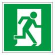 Rettungszeichen Fluchtweg Notausgang Piktogramm Zeichen