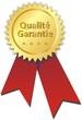 médaille qualité garantie
