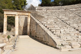 Greece, Epidaurus. Ancient Theatre