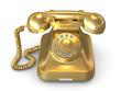 Golden phone