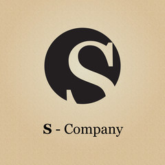 Logo initial letter S, initial # vector