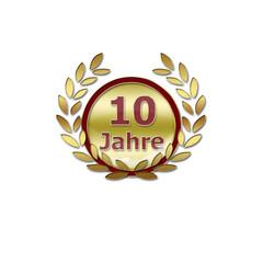 10 Jahre - Feier - Jubiläum
