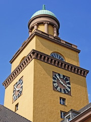 Rathaus-Turm in Witten an der Ruhr