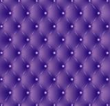Capitonné violet boutons violets-1