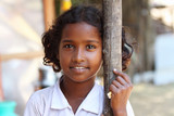 Portrait of attractive Indian Village Girl