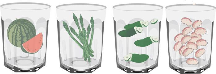 bicchiere da cucina