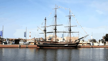 die Bounty in Bremerhaven
