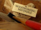 Woodworking materials (concept) poster