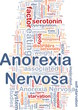 Anorexia nervosa background concept