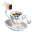 tazzina e chicco caffè