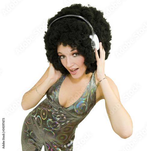 Disco - casque sur les oreilles