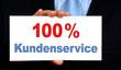 100 % Kundenservice - Marketing und Verkauf