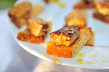 foie gras sur pain d'épice