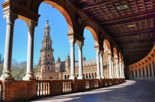 Arcos en la Plaza España en Sevilla - 34399639