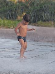 pioggia estiva