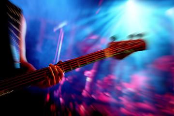 Musik Action mit Gitarre