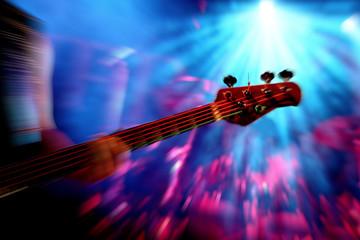 Konzert - Action mit Gitarre