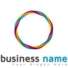 logo cercles colorés