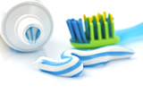 Fototapety toothpaste