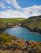Cove at Port Quin, Cornwall, UK