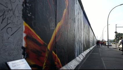 East Side Gallery – Reste der Berliner Mauer