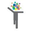Logo ideas that run # Vector