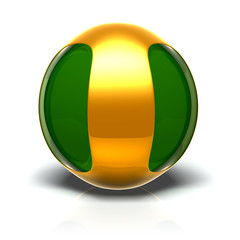 sphere_greengold