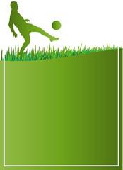 Fussball Plakat