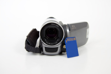 digital home video camera zoom with sd memory card