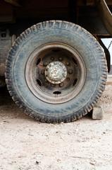 Old Wheel truck 10 wheel