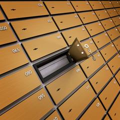 Lockbox Bankschliessfach