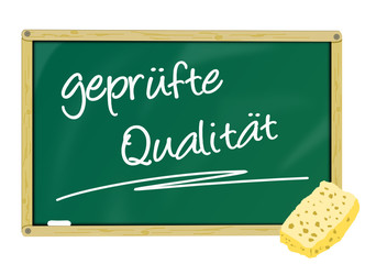 Tafel geprüfte Qualität