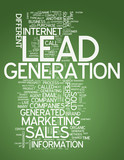 "Word Cloud ""Lead Generation"""