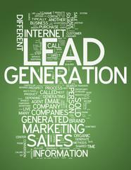 "Word Cloud ""Lead Generation"""