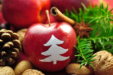 Apfel,Weihnachten