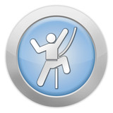 "Light Colored Icon ""Rock Climbing"""
