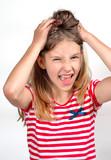 Mädchen Kind Schrei poster