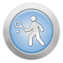 "Light Colored Icon ""Tennis"""