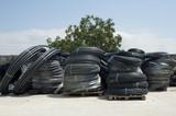 Black PVC hoses