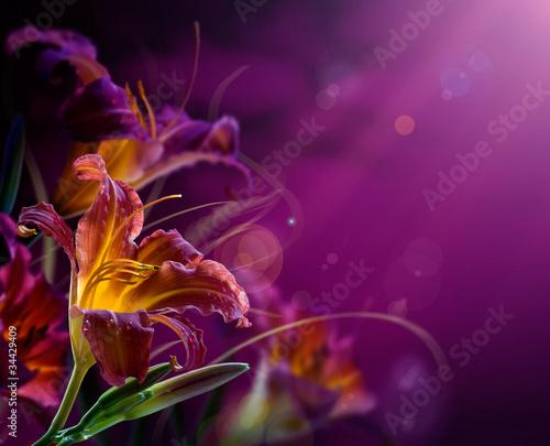 abstrakcyjna kwiatu tła. Z kopii miejsca
