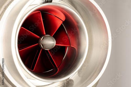 Leinwanddruck Bild turbocharger