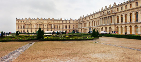 The most known palace in the world - Versailles, France
