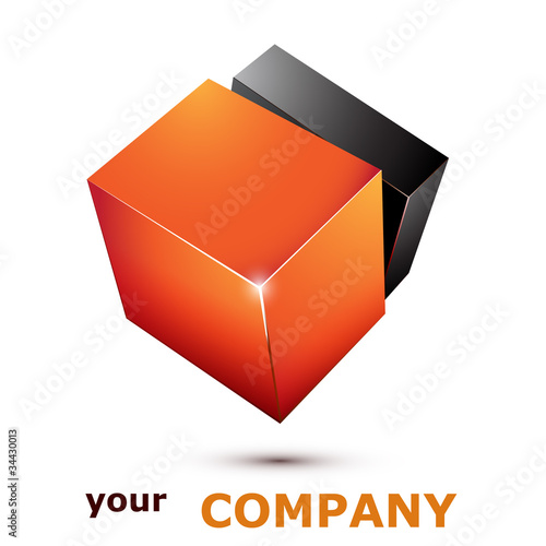 logo business 11 orange