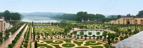 Leinwandbild Motiv Landscaping architecture of palace Versailles, France
