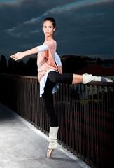 beautiful ballerina dance ballet