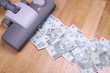 Vacuuming money