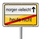 Motivation Schild poster