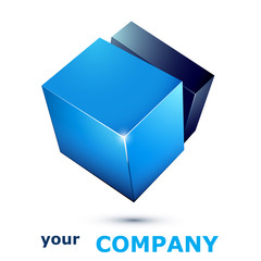 logo business 11 blue