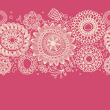 Floral background (seamless pattern)
