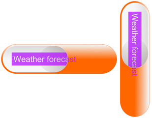 Button capsule Weather forecast